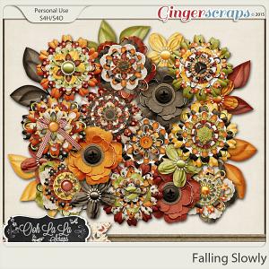 Falling Slowly Layered Flowers