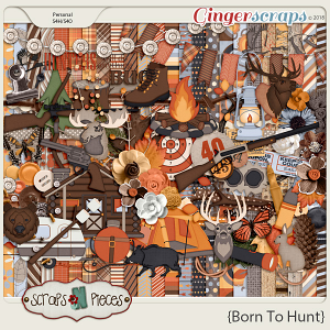 Born To Hunt Kit by Scraps N Pieces