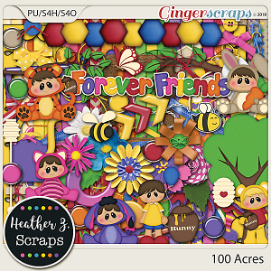 100 Acres KIT by Heather Z Scraps