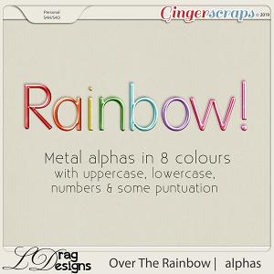 Over The Rainbow: Alphas by LDragDesigns