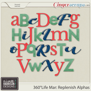360°Life Mar: Replenish Alpha Sets by Aimee Harrison