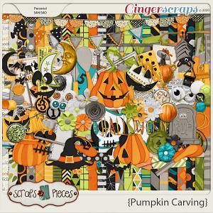 Pumpkin Carving Kit - Scraps N Pieces