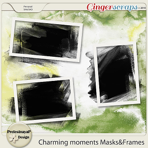 Charming moments Masks&Frames