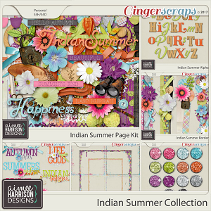 Indian Summer Collection by Aimee Harrison