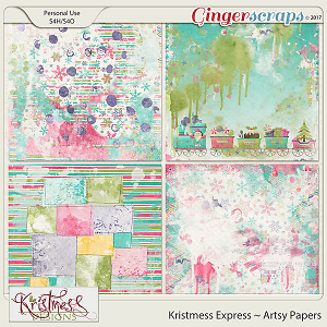 Kristmess Express Artsy Papers