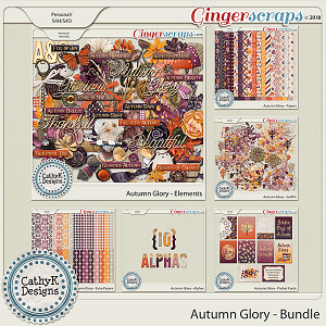 Autumn Glory - Bundle by CathyK Designs