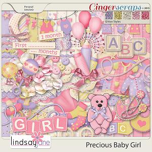 Precious Baby Girl by Lindsay Jane