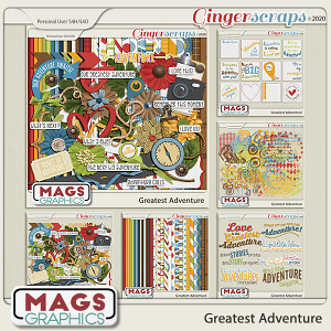 Greatest Adventure BUNDLE by MagsGraphics