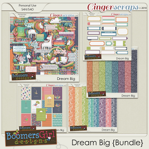 Dream Big Bundle by BoomersGirl Designs