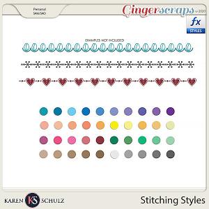 Stitching Styles by Karen Schulz