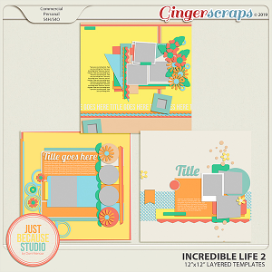 Incredible Life 2 Templates By JB Studio