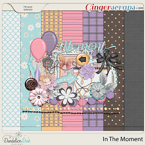 In The Moment Digital Scrapbook Kit by Dandelion Dust Designs