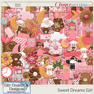 Sweet Dreams Girl {Kit} by Day Dreams 'n Designs