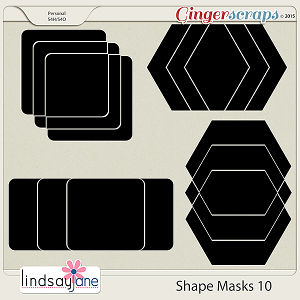 Shape Masks 10 by Lindsay Jane