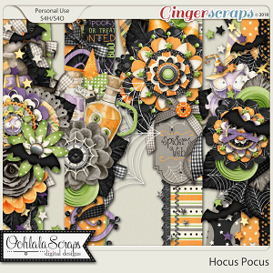Hocus Pocus Page Borders