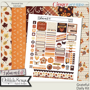 Grateful Planner Daily Kit