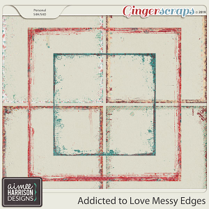 Addicted to Love Messy Edges by Aimee Harrison