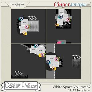 White Space Volume 62 - 12x12 Temps (CU Ok) by Connie Prince