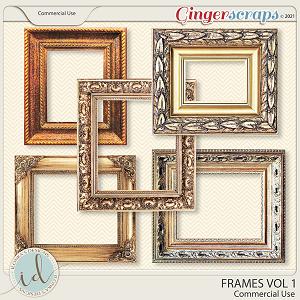 CU Frames Vol 1 by Ilonka's Designs