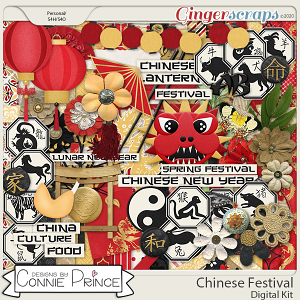 Chinese Festival - Kit by Connie Prince