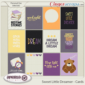 Sweet Little Dreamer - Cards by Aprilisa Designs