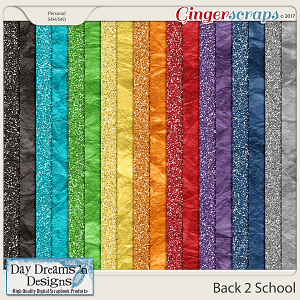 Back 2 School {Glitter Papers} by Day Dreams 'n Designs