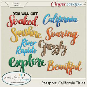 Passport: California Titles