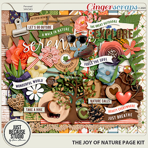 The Joy of Nature Page Kit by JB Studio