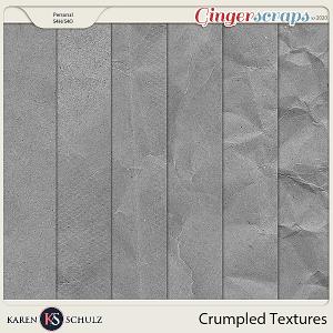 Crumpled Textures 01 by Karen Schulz