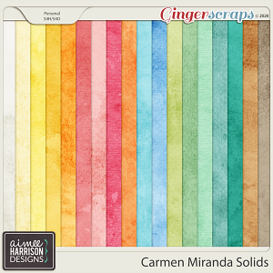 Carmen Miranda Solid Papers by Aimee Harrison