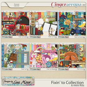 Fixin' to Collection from Designs by Lisa Minor