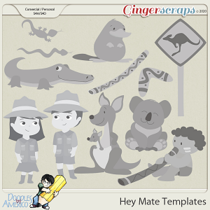 Doodles By Americo: Hey Mate Templates