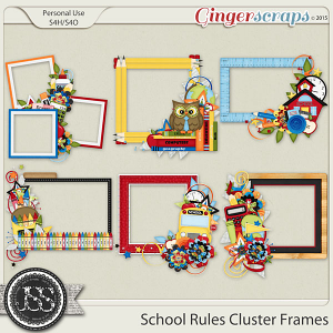 School Rules Cluster Frames