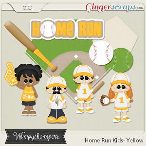 Home Run Kids- Yellow