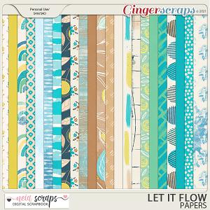 Let it Flow - Papers - by Neia Scraps