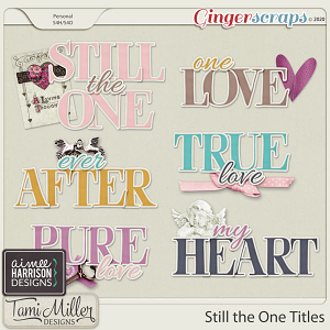Still the One Titles by Aimee Harrison and Tami Miller