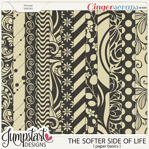 The Softer Side of Life {Paper Basics} by Jumpstart Designs