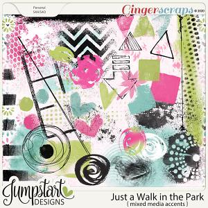 Just a Walk in the Park {Mixed Media Accents} Jumpstart Designs