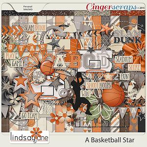 A Basketball Star by Lindsay Jane