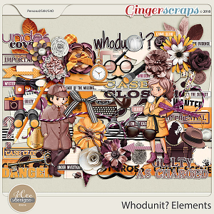 Whodunit Elements by JoCee Designs