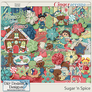 Sugar 'n Spice {Kit} by Day Dreams 'n Designs