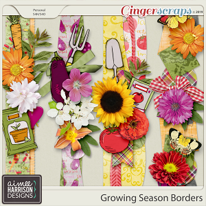 Growing Season Borders by Aimee Harrison