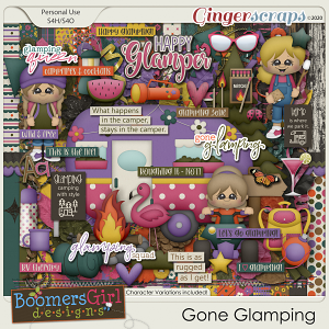 Gone Glamping by BoomersGirl Designs