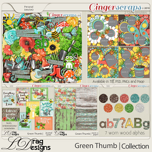 Green Thumb: The Collection by LDragDesigns