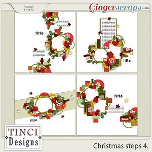 Christmas steps 4.