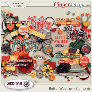 Better Weather - Elements by Aprilisa Designs