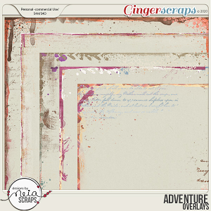 Adventure - Overlays - by Neia Scraps