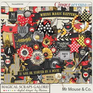 Mr Mouse & Co (page kit)