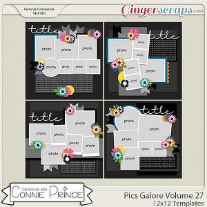 Pics Galore Volume 27 - 12x12 Temps (CU Ok) by Connie Prince