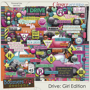 Drive: Girl Edition by BoomersGirl Designs